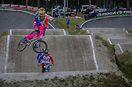 during round 4 of the 2017 UCI BMX  Supercross World Cup in Zolder, Belgium.