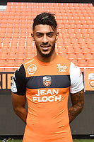 Denis Bouanga during photoshooting of FC Lorient for new season 2017/2018 on September 12, 2017 in Lorient, France. (Photo by Philippe Le Brech/Icon Sport)