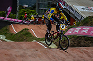 #39 (CARR Amanda) THA at the 2016 UCI BMX World Championships in Medellin, Colombia.