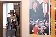 Beatrix opent tentoonstelling M&aacute;xima, 10 jaar in Nederland.//<br /> Queen Beatrix opens the exibition Maxima 10 years in the Netherlands<br /> <br /> Op de foto:<br /> <br />  Koningin Beatrix / Queen Beatrix