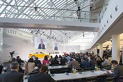 10.03.2015, Audi Forum, Ingolstadt, GER, AUDI AG Jahrespressekonferenz, im Bild Rupert Stadler, Vorstandsvorsitzender der Audi AG // during AUDI AG Annual Press Conference at the Audi Forum in Ingolstadt, Germany on 2015/03/10. EXPA Pictures © 2015, PhotoCredit: EXPA/ Eibner-Pressefoto/ Strisch<br /> <br /> *****ATTENTION - OUT of GER*****
