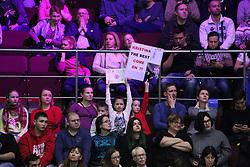 February 3, 2018 - St. Petersburg, Russia - Russian Federation. Saint-Petersburg. Tennis. Tennis tournament. Women. WATTS. WTA...Kristina Mladenovic - Darya Kasatkina. (Credit Image: © Russian Look via ZUMA Wire)