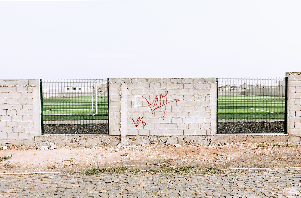 Cabo Verde, Sal, football cout in Espargos