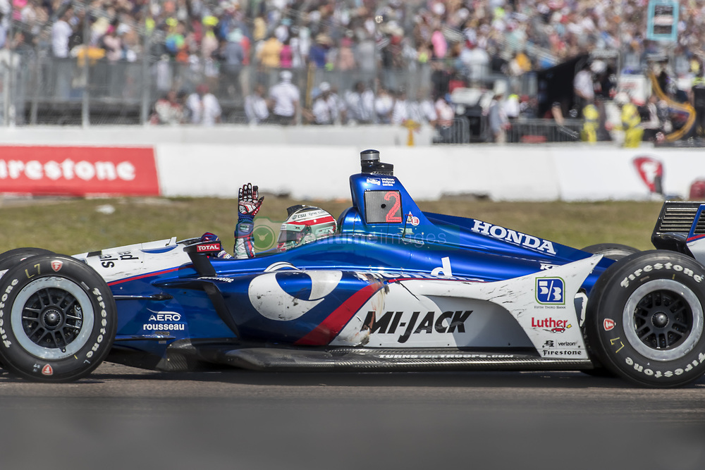 March 11, 2018 - St. Petersburg, Florida, United States of America - March 11, 2018 - St. Petersburg, Florida, USA: Takuma Sato (30) takes to the track for the Firestone Grand Prix of St. Petersburg at Streets of St. Petersburg in St. Petersburg, Florida. (Credit Image: © Walter G Arce Sr Asp Inc/ASP via ZUMA Wire)