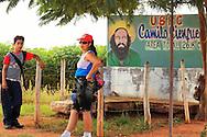 Camilo in Las Coloradas, Granma, Cuba.