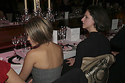 RACHEL STEVENS AND MARIA GRACHVOGEL, 6th Annual Lanc»me Colour Designs Awards In association with CLIC Sargent Cancer Care.  Lindley Hall, Vincent Sq. London. 28 November 2006.  ONE TIME USE ONLY - DO NOT ARCHIVE  © Copyright Photograph by Dafydd Jones 248 Clapham Rd. London SW9 0PZ Tel 020 7733 0108 www.dafjones.com