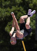 Jun 30, 2019; Stanford, CA, USA; Sam Kendricks (USA) places second in the pole vault at 19-3 1/2 (5.88m)  during the 45th Prefontaine Classic at Cobb Track & Angell Field.