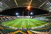 Franklins Gardens during the Gallagher Premiership Rugby match between Northampton Saints and Harlequins at Franklins Gardens, Northampton, United Kingdom on 1 November 2019.