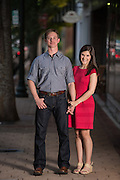 Trevor and Kaelyn Engagement   New Bern Photographers