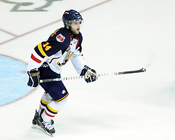 Nick Crawford of the Barrie Colts in Game 3 of the Rogers OHL Championship Series in Windsor on Sunday May 2. Photo by Aaron Bell/OHL Images