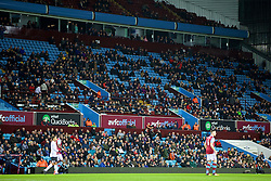 BIRMINGHAM, ENGLAND - Tuesday, March 1, 2016: Thousands of empty seats as Aston Villa take on Everton during the Premier League match at Villa Park. (Pic by David Rawcliffe/Propaganda)