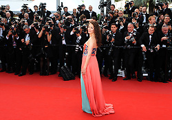 French actress Berenice Bejo arrives for the screening of 'Lawless' presented in competition at the 65th Cannes film festival on May 19, 2012 in Cannes...Photo Ki Price.French actress Berenice Bejo arrives for the screening of 'Lawless' presented in competition at the 65th Cannes film festival on May 19, 2012 in Cannes. Photo By Ki Price/i-Images