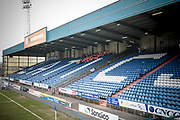 General View of the stadium with the stewards receiving their pre-game briefing before the EFL Sky Bet League 1 match between Oldham Athletic and Bury at Boundary Park, Oldham, England on 11 March 2017. Photo by Mark P Doherty.