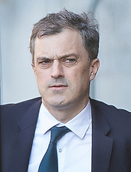 © Licensed to London News Pictures. 11/04/2019. London, UK. Conservative Chief Whip Julian Smith is seen in Parliament. The EU has agreed a further Brexit delay until October 31st. Photo credit: Peter Macdiarmid/LNP