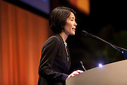 Chicago, IL - ASCO 2012 Annual Meeting: - Alice Shaw, MD, PhD  speaks during CSS: Emerging New Targts and Drugs in NSCLC at the American Society for Clinical Oncology (ASCO) Annual Meeting here today, Saturday June 2, 2012.  Over 25,000 physicians, researchers and healthcare professionals from over 100 countries are attending the meeting which is being held at the McCormick Convention center and features the latest cancer research in the areas of basic and clinical science. Photo by © ASCO/Scott Morgan 2012 Technical Questions: todd@toddbuchanan.com; ASCO Contact: photos@asco.org