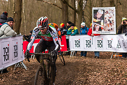 Marcel Wildhaber (SUI), Men Elite, Cyclo-cross World Championship Tabor, Czech Republic, 1 February 2015, Photo by Pim Nijland / PelotonPhotos.com