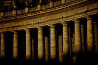 St. Peter's Basilica | Piazza San Pietro - columns.