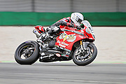 Glenn Irwin (2) BeWiser Ducati during qualifying at the BSB Championship at the TT Circuit,  Assen, Netherlands on 1 October 2016. Photo by Nigel Cole.