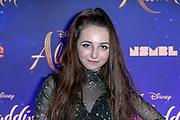 2019, May 21. Vue Cinema, Hilversum, the Netherlands. Sara Dol at the dutch premiere of Aladdin.