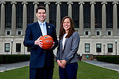 Columbia Basketball - Jim Engles & Megan Griffith Portraits
