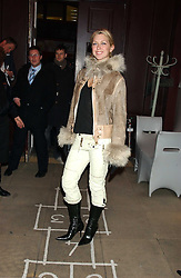 Actress MARGO STILLEY at a launch party for Kraken Opus's new luxury sports books held at Sketch, 9 Conduit Street, London W1 on 22nd February 2006.<br /><br />NON EXCLUSIVE - WORLD RIGHTS