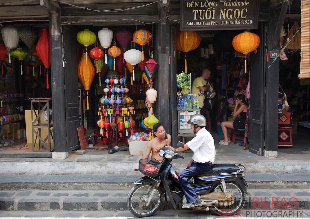 gift shop.<br /> Hoi An, Vietnam, Asia.