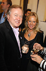 SIR ANTHONY BAMFORD and his daughter ALICE BAMFORD at a private view of paintings by Rosita Marlborough (The Duchess of Marlborough) held at Hamiltons gallery, Carlos Place, London W1 on 9th November 2005.<br />