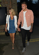 EXCLUSIVE<br /> Love Islands Olivia and Alex arrive at Sheesh restaurant in Chigwell <br /> Essex<br /> ©Exclusivepix Media