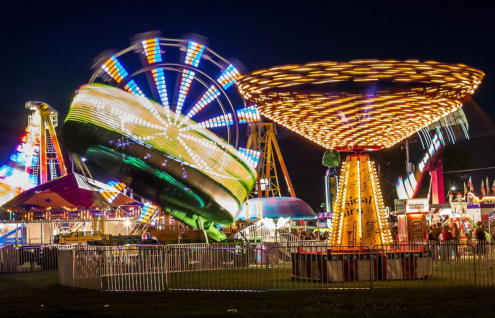 A scene I captured at a county fair.