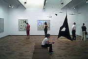 Spanje, Barcelona, 5-6-2005..Fondacio Miro, museum met permanente tentoonstelling van Joan Miro. Cultuur, moderne kunst, toerisme, economie, vakantie, stedentrip...Foto: Flip Franssen