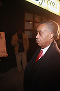 Rev. Al Sharpton at Sylvia's Restuarant, where a gathering of Influential African-American Politicians called by Rev. Al Sharpton,  decide resolution of the fate of Governor David Patterson on March 4, 2010 in Harlem, New York City