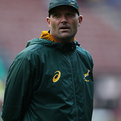 Jacques Nienaber (Defence Coach) of South Africa during the 2018 Castle Lager Incoming Series 3rd Test match between South Africa and England at Newlands Rugby Stadium,Cape Town,South Africa. 23,06,2018 Photo by (Steve Haag JMP)