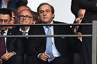 Michel Platini <br /> Berlino 06-06-2015 OlympiaStadion  <br /> Juventus Barcelona - Juventus Barcellona <br /> Finale Final Champions League 2014/2015 <br /> Foto Matteo Gribaudi/Image Sport/Insidefoto