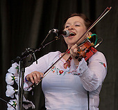 Eliza Carthy Trafalgar Square London 25th April 2009