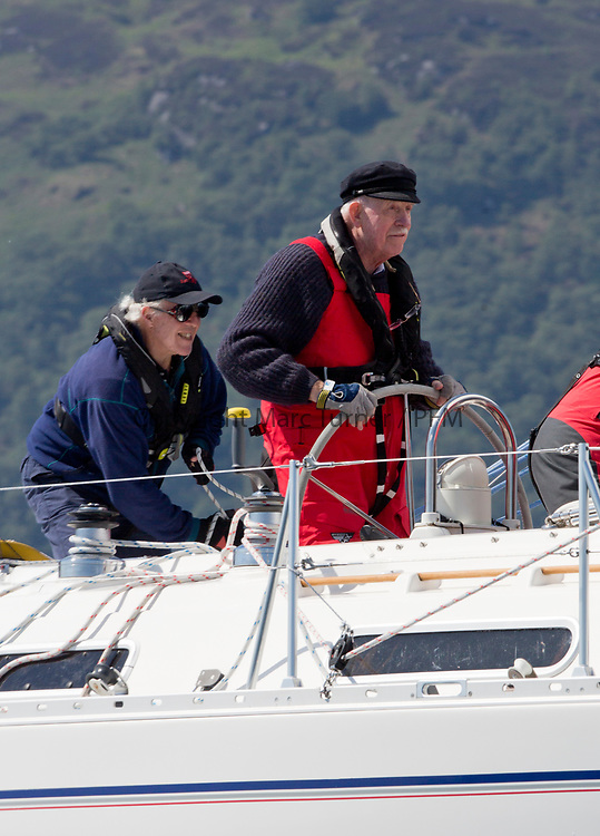 Silvers Marine Scottish Series 2017<br /> Tarbert Loch Fyne - Sailing<br /> <br /> 4040C, Lemarac, Mr. A. Boyd Tunnock, Clyde Cruising Club, Moody 38