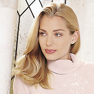 Picture of a blonde beauty created for a South Florida fashion catalog.