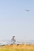Israel, Ben-Gurion international Airport Air Control radar tower