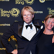 NLD/Amsterdam/20181011 - Televizier Gala 2018, Lleo Alkemade en partner Margriet Baalman