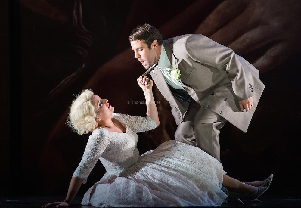 Glyndebourne Touring Opera present Don Giovanni by Wolfgang Amadeus Mozart<br /> <br /> <br /> Zerlina  - Louise Alder<br /> Masetto  - Božidar Smiljanić<br /> <br /> <br /> Conductor Pablo Gonz&aacute;lez (15, 22, 25, 27, 30 Oct; 4,8, 11, 15, 18, 22, 25 Nov)<br /> Ben Gernon (29 Nov; 2, 6, 9 Dec)<br /> Director Jonathan Kent<br /> Revival Director Lloyd Wood<br /> Designer Paul Brown<br /> Lighting Designer Mark Henderson<br /> <br /> The Glyndebourne Tour Orchestra<br /> The Glyndebourne Chorus<br /> <br /> Don Giovanni Duncan Rock<br /> Donna Anna Ana Maria Labin<br /> Don Ottavio Anthony Gregory<br /> Donna Elvira Magdalena Molendowska<br /> Leporello Brandon Cedel<br /> Il Commendatore Andrii Goniukov<br /> Zerlina Louise Alder<br /> Masetto Božidar Smiljanić