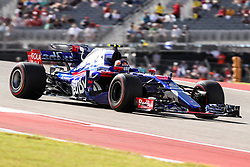 October 21, 2017 - Austin, Texas, U.S - Red Bull Racing driver Daniil Kvyat (26) of Russia in action during the final practice before the Formula 1 United States Grand Prix race at the Circuit of the Americas race track in Austin,Texas. (Credit Image: © Dan Wozniak via ZUMA Wire)