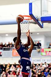 Daniel Edozie of Bristol Flyers  - Photo mandatory by-line: Ryan Hiscott/JMP - 17/01/2020 - BASKETBALL - SGS Wise Arena - Bristol, England - Bristol Flyers v London City Royals - British Basketball League Championship