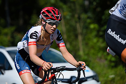 Gabrielle Pilote Fortin (Cervélo Bigla) at Thüringen Rundfarht 2016 - Stage 6 a 130 km road race starting and finishing in Schleiz, Germany on 20th July 2016.