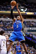 NBA - Indiana Pacer vs Oklahoma City Thunder - Indianapolis, Indiana