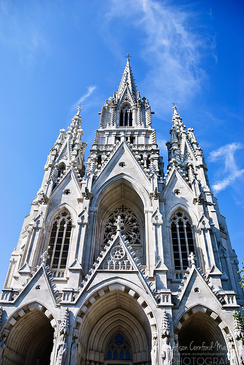 Church of Our Lady of Laeken or  Église Notre-Dame de Laeken in French or Onze-Lieve-Vrouwekerk van Laken in Dutch in Brussels, Belgium