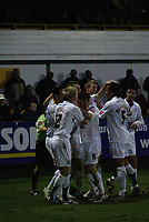 Photo: Marc Atkins.<br />Boston United v Hereford United. Coca Cola League 2. 25/11/2006. Hereford players celebrate with Andy Williams after he scores the 1st goal of the game.