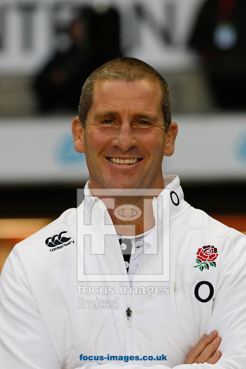 Picture by Andrew Tobin/Focus Images Ltd +44 7710 761829<br /> 02/11/2013<br />  Stuart Lancaster of England smiles as England beat Australia 20-13 during the QBE Internationals  match at Twickenham Stadium, Twickenham.