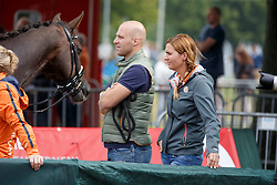 Witte Jeroen, Scholtens Emmelie, (NED)<br /> Small Final 6 years old horses<br /> World Championship Young Dressage Horses - Verden 2015<br /> © Hippo Foto - Dirk Caremans<br /> 08/08/15