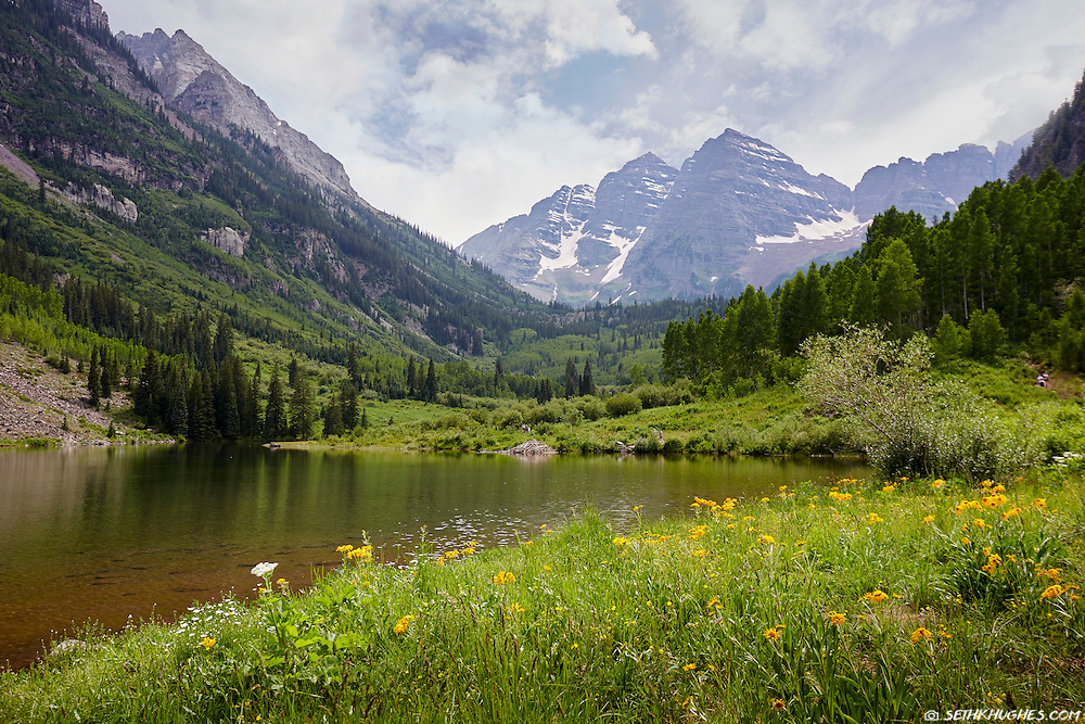 Maroon Lake, Maroon Bells-Snowmass Wilderness, Colorado