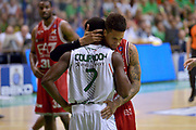 DESCRIZIONE : Milano Lega A 2013-14 Montepaschi Siena  vs EA7 Emporio Armani Milano playoff Finale gara 6<br /> GIOCATORE : Cournooh David Reginald Daniel Hackett<br /> CATEGORIA : Ritratto<br /> SQUADRA : Montepaschi Siena EA7 Emporio Armani Milano<br /> EVENTO : Finale gara 6 playoff<br /> GARA : Montepaschi Siena  vs EA7 Emporio Armani Milano playoff Finale gara 6<br /> DATA : 25/06/2014<br /> SPORT : Pallacanestro <br /> AUTORE : Agenzia Ciamillo-Castoria/I.Mancini<br /> Galleria : Lega Basket A 2013-2014  <br /> Fotonotizia : Milano<br /> Lega A 2013-14 Montepaschi Siena  vs EA7 Emporio Armani Milano playoff Finale gara 6 <br /> Predefinita :