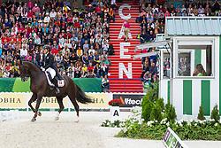 Anna Kasprzak, (DEN), Donnperignon - Grand Prix Special Dressage - Alltech FEI World Equestrian Games™ 2014 - Normandy, France.<br /> © Hippo Foto Team - Leanjo de Koster<br /> 25/06/14